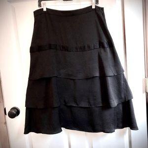 Beautiful 3 tiered skirt.